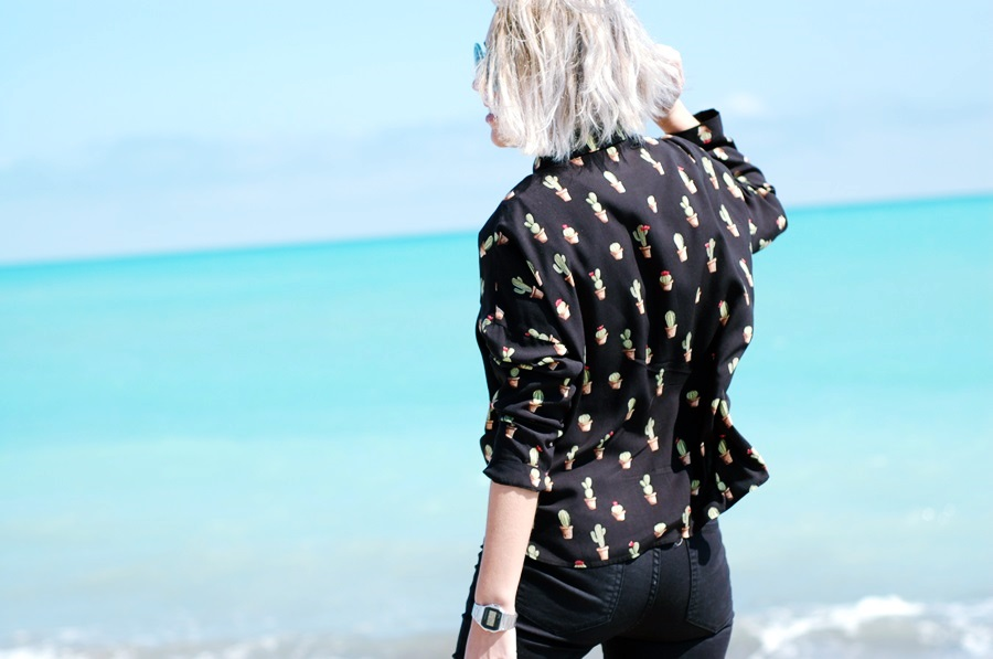 bomber, cactus zara shirt, nude blucher littledreamsbyr