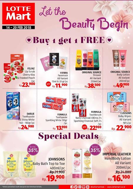 Promo LOTTEMART Hypermarket Terbaru Special Valentine Periode 14 Februari 2018