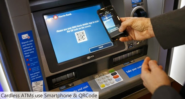 Card Less ATMs - Who to withdrawal and deposit cash from ATMs without card