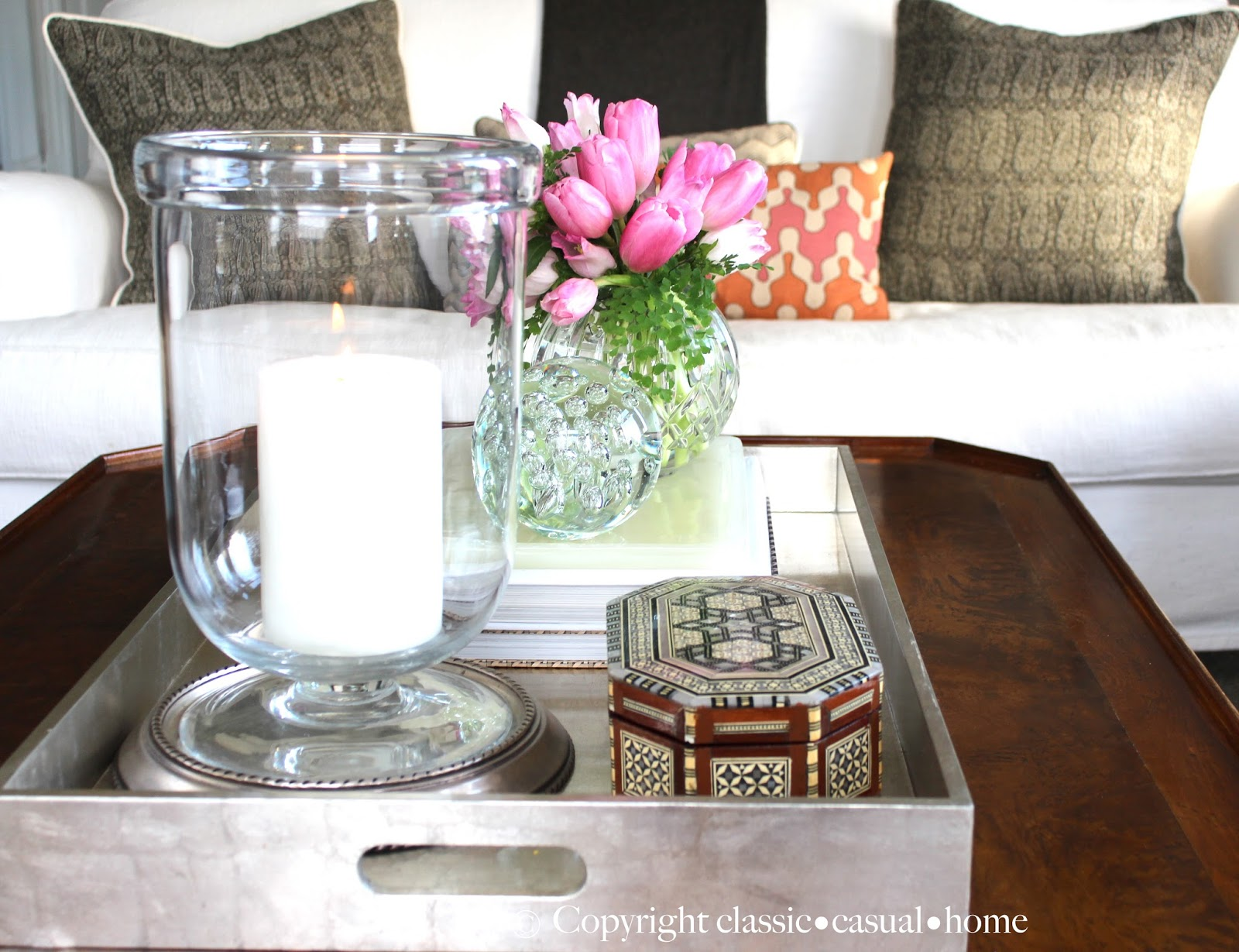 Glam Coffee Table Project Design How To Style Your Clic Casual Home