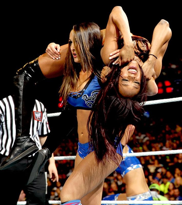The Bella Twins-Alicia Fox-WWE Divas