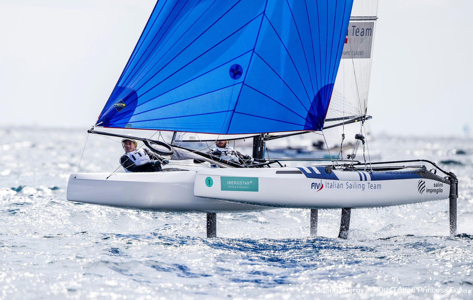 Nacra 17 @Trofeo Princesa Sofia 2019: Day 5 Results
