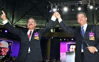 Leonel Fernandez y Danilo Medina