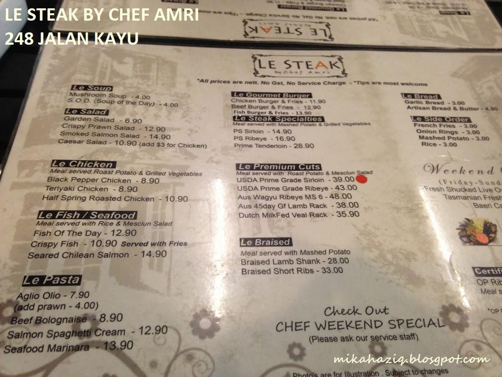 le steak halal singapore review