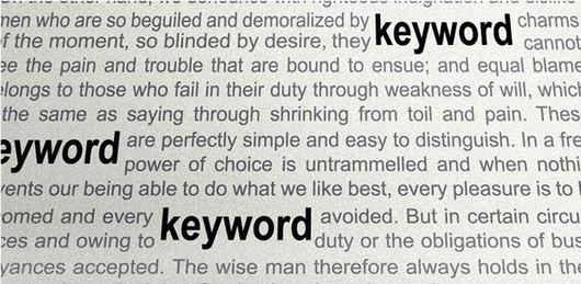 berapa kepadatan kata kunci untuk SEO