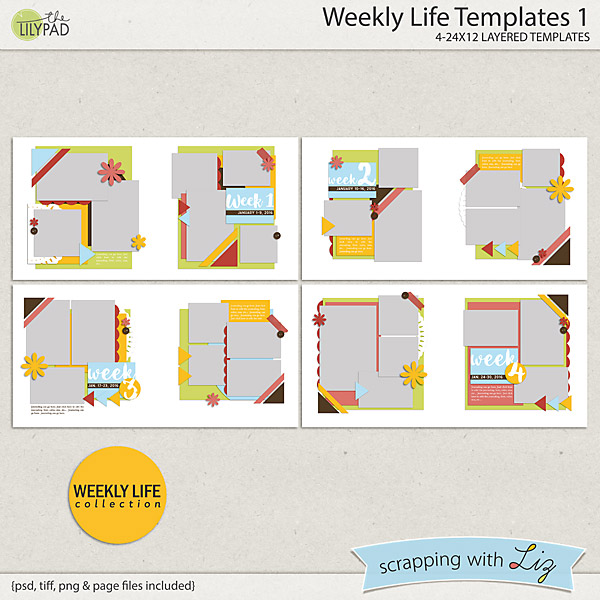 http://the-lilypad.com/store/Weekly-Life-1-Digital-Scrapbook-Templates.html