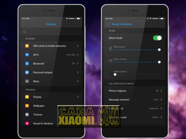 Download tema Xiaomi MIUI Iphone Ios dark terbaru