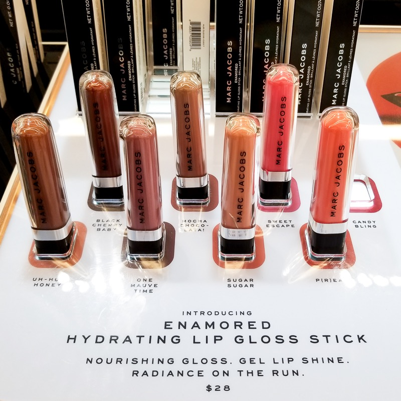 Marc Jacobs Beauty - Enamored Hydrating Lip Gloss Sticks - Swatches