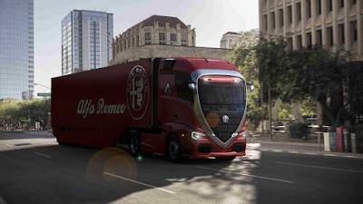 Retorno do FNM? Caminhão da Alfa Romeo atual seria assim
