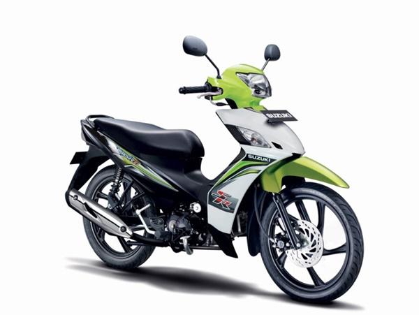 New Suzuki Smash FI SR