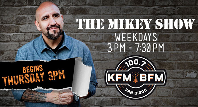 Media confidential san diego radio the mikey show returns to kfm bfm san diego radio the mikey show returns to kfm bfm altavistaventures
