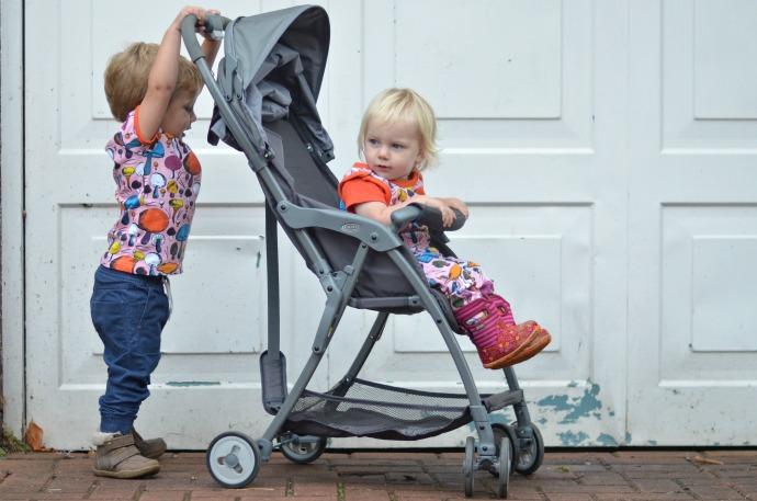 Graco featherweight, light weight stroller