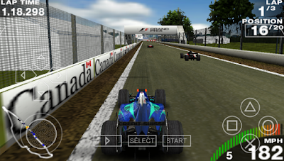 Download F1 Grand Prix 2017 for Android PPSSPP ISO Update Terbaru Gratis