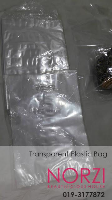 beg plastik transparent jernih untuk kegunaan perniagaan penghantaran