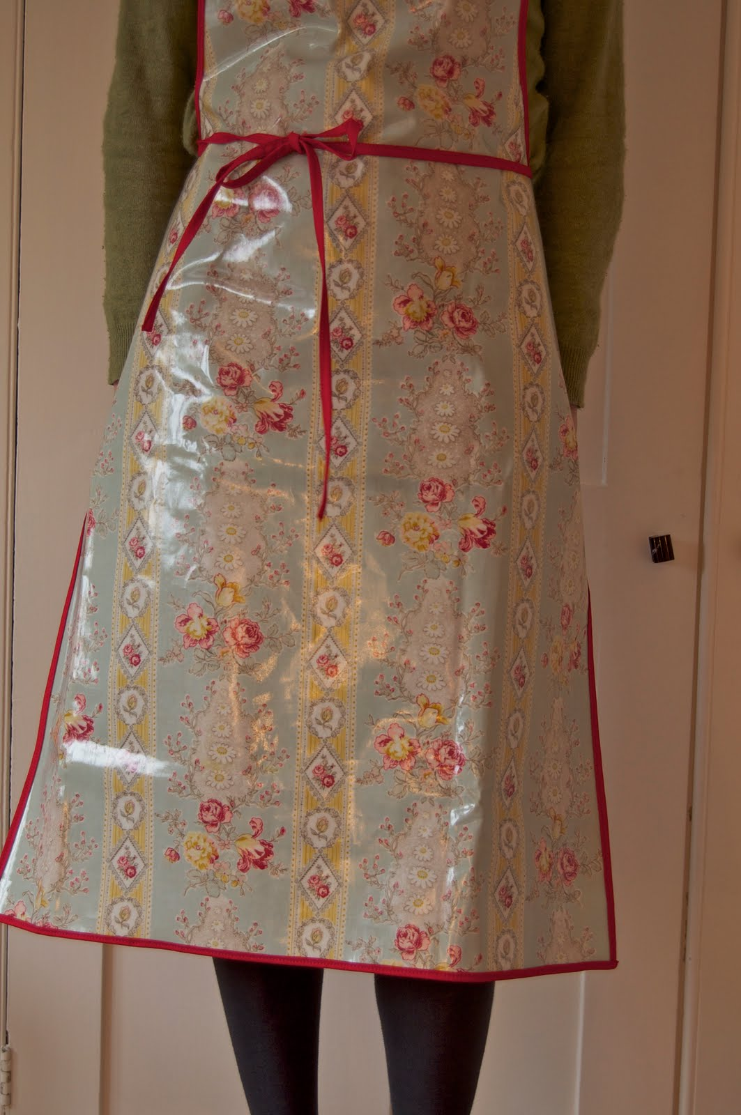 Harmony And Rosie An Oilcloth Apron