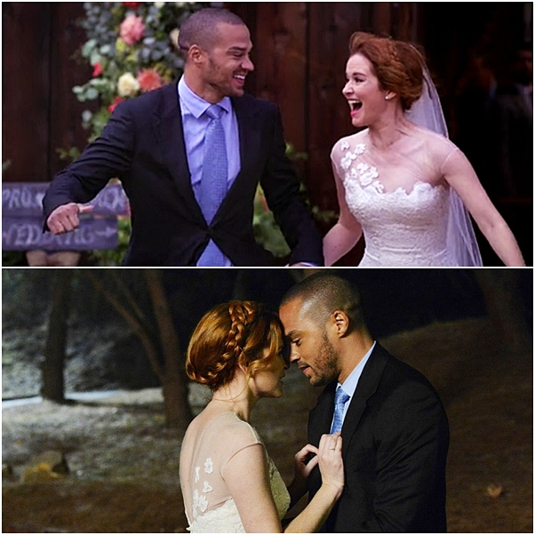 casamento Grey's Anatomy april kepner