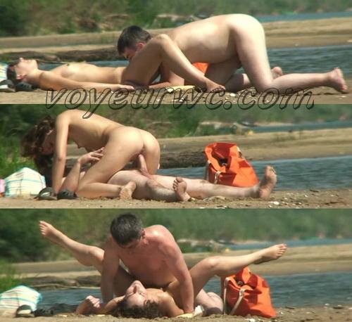 BeachHunters Sex 17789-17852 (Nude Beach Sex Voyeur. Nude Beach - Lesbian Show for Vo