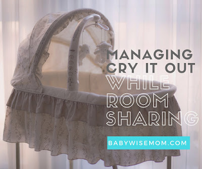 Managing Cry It Out While Room Sharing
