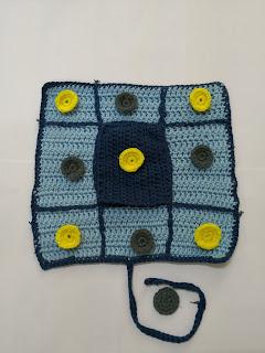 crochet boardgame for kids