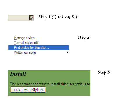 Steps for Chrome