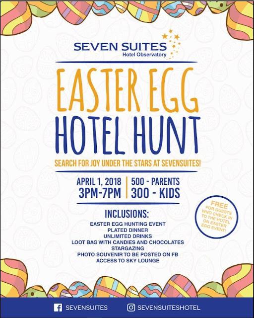 Seven Suites Easter 2018