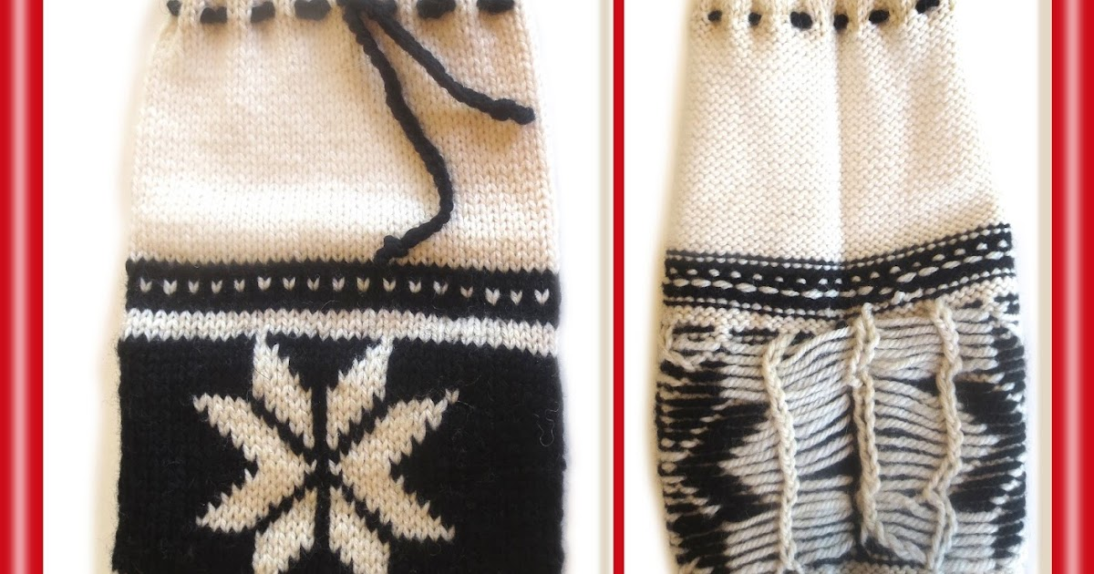 Long floats in color knitting: modifying STUART ladderback jacquard for rough-use situations