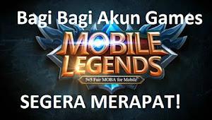 Bagi - Bagi Akun Games Mobile Legends (ML) Gratisan Terbaru Level Mytics