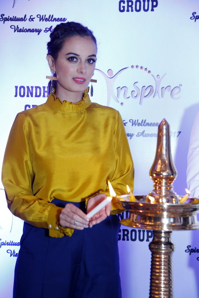 Evelyn Sharma Graces Spiritual and Wellness Visionary Awards 2017 Stills
