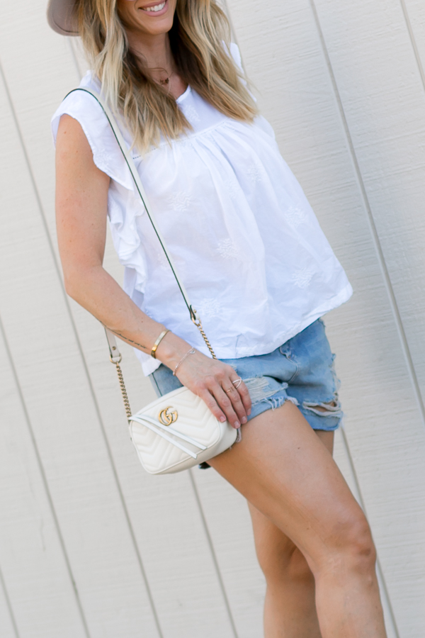 distressed jean shorts nordstrom topshop parlor girl