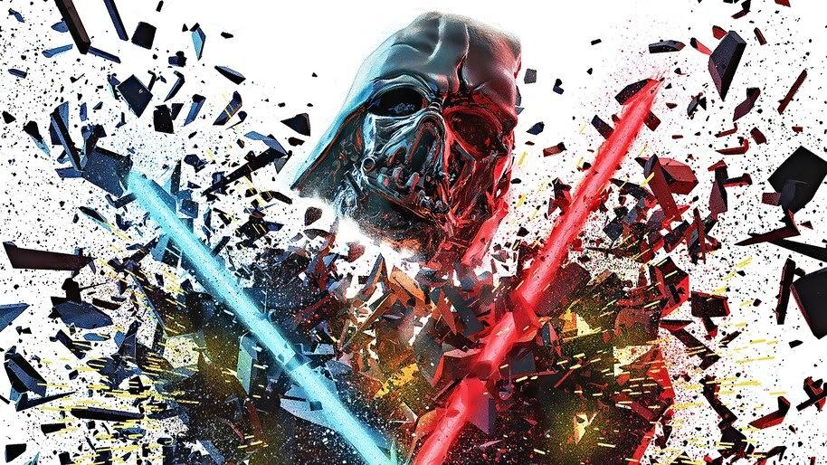 Darth Vader Lightsaber Star Wars The Rise Of Skywalker 4k