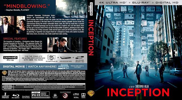 Inception 4k Bluray Cover