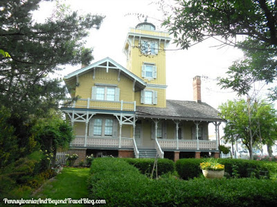 Hereford Inlet Lighthouse in Wildwood New Jersey