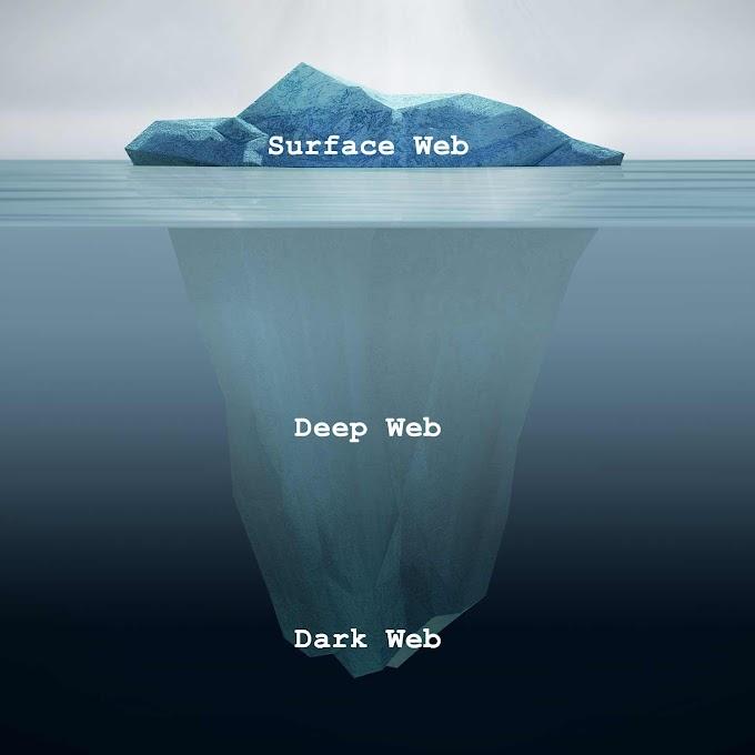 Surface Web, Deep Web සහ Dark Web කියන්නෙ මොනාද?