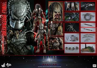 """Primeras imágenes de Wolf Predator 1/6 Scale Figure de """"Aliens vs Predator: Requiem"""" - Hot Toys"""