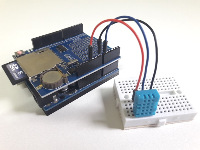 Arduino Data Logger Shield com DHT11