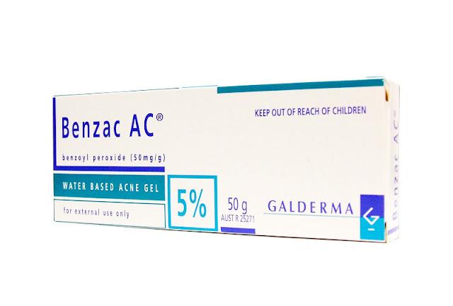 ยาทาสิวอุดตัน Benzac ac 5%
