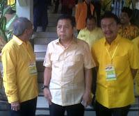 Ketua Dewan Pimpinan Daerah (DPD) Partai Golkar Jatim Nyono Suharli