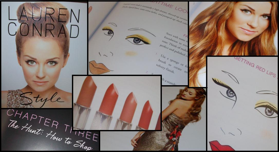 Thoughts From The Mrs.: Beauty Books: Style By Lauren Conrad