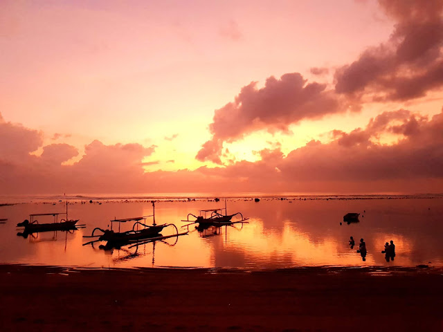 Alba a Sanur-Sunrise at Sanur-Bali
