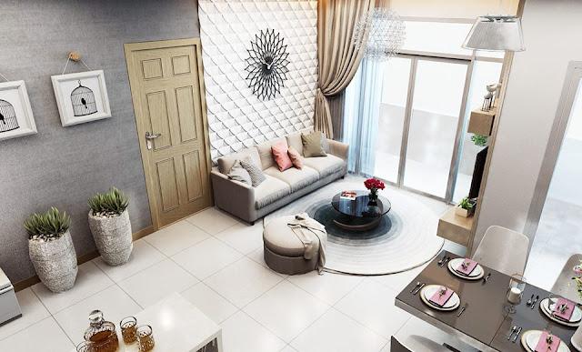 Không gian trang nhã tại căn hộ gia đình bạn