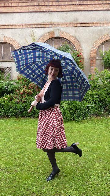 jupe vintage mademoiselle r la redoute