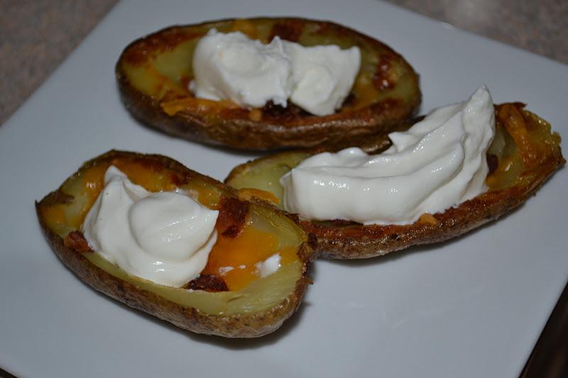 Delectable Delights with Rebecca: Potato Skins
