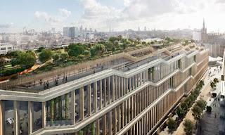 Google mengajukan rencana untuk markas London seluas 1 juta kaki persegi