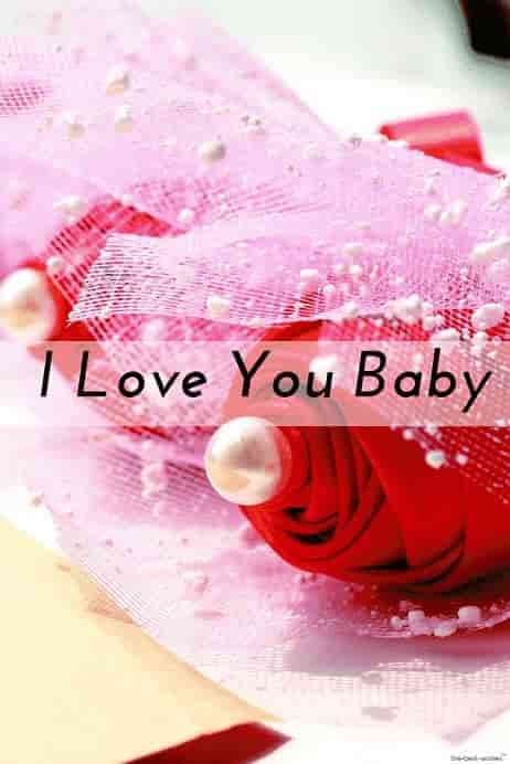 i love you baby good morning hd image with red roses