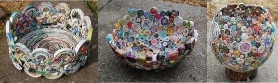 El reciclaje mas que un arte es una diversi n que for Como hacer decoraciones para el hogar