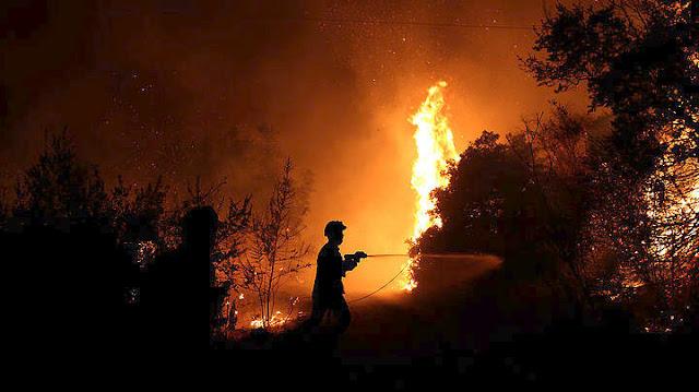 Μεγάλη μάχη με τις φλόγες σε Βαρνάβα και Κάλαμο (βίντεο)