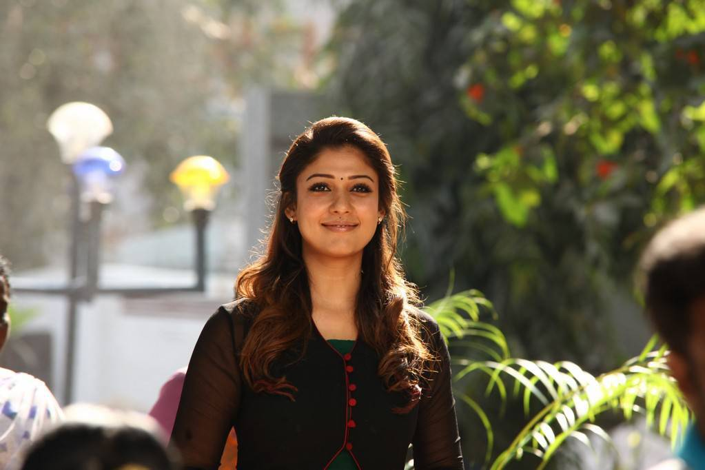 Nayanthara Pics In Black Dress