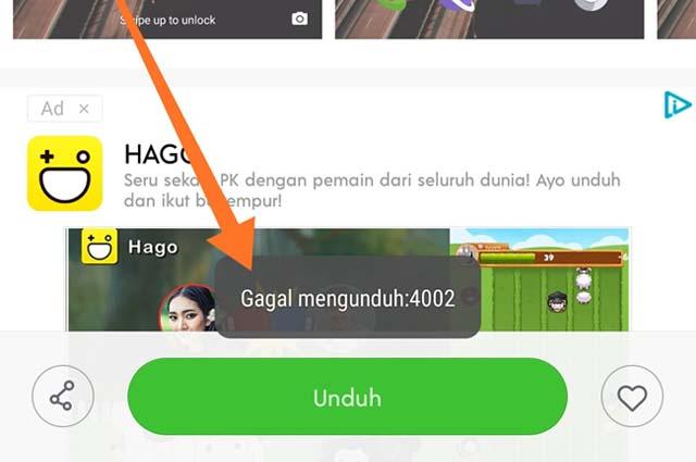 Cara Mengatasi Gagal Mengunduh:4002 Saat Download Tema di MIUI 10