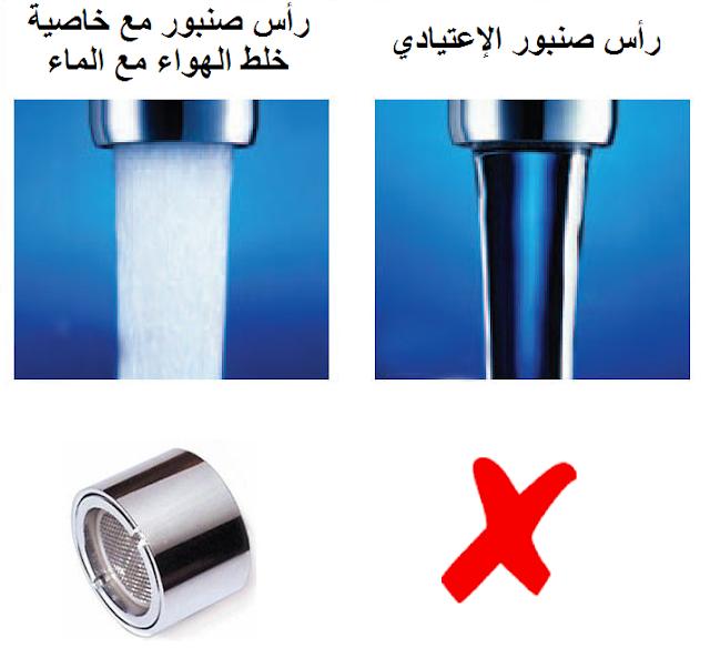 30 طريقة لتخفيض فاتورة الكهرباء و الماء