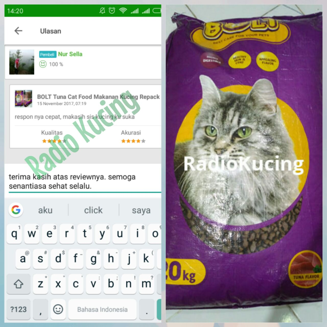 Review Makanan Kucing Bolt Tuna Cat Food Radiokucing Com